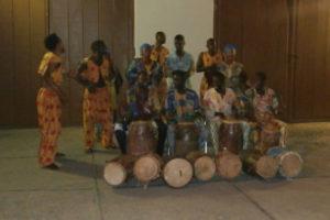 Dogonorkestern. Västafrika 2013