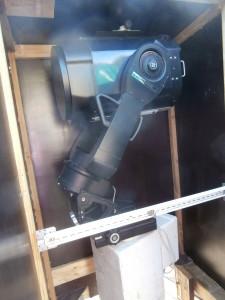 Ett av Håkans teleskop