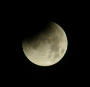 Månförmörkelsen från Toras balkong