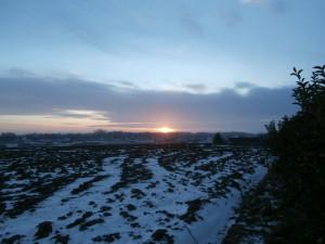 Solnedgång från TBO